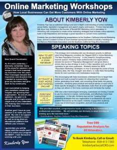 Kimberly Yow, Internet Marketing Speaker, SocialCRO Marketing
